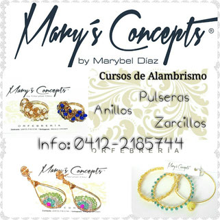 Cursos de Alambrismo - Mary´s Concepts