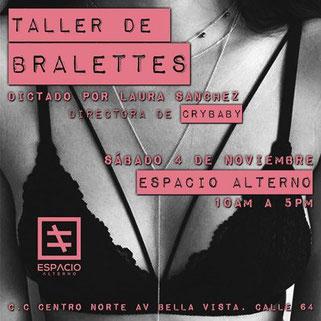 Taller de Bralettes - Espacio Alterno