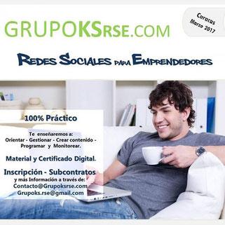 Taller Redes Sociales para Emprendedores - GRUPO KSrse