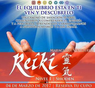 Reiki Shoden (Nivel I) - Soy Alma Reiki