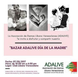 Bazar Adalive Día de la Madre / 2017