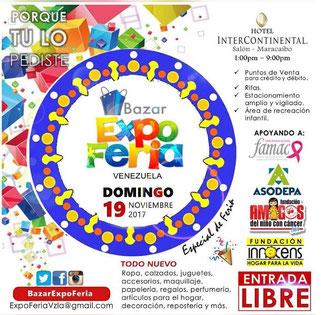 Bazar Expo Feria Venezuela - Especial de Feria