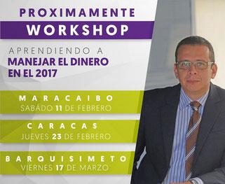 Workshop Aprendiendo a Manejar el Dinero en el 2017 - Alejandro Quiñones