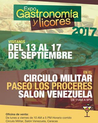 Expo Gastronomía y licores 2017