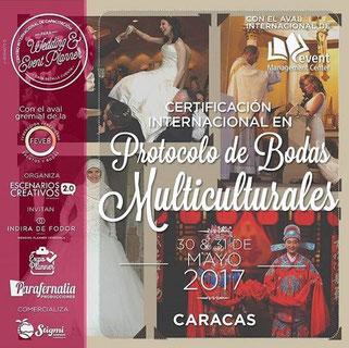 Certificación Internacional en Protocolo de Bodas Multiculturales -  Wedding & Event Planner