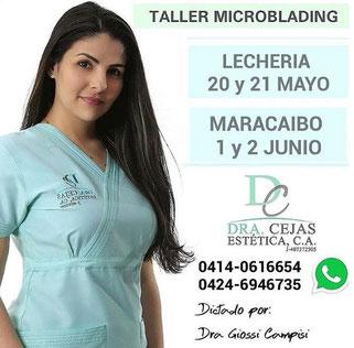 Taller Micropigmentación - Dra. Cejas