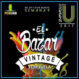 El Bazar Vintage - Zaperoco en la U 2017