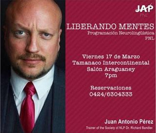 Seminario Liberando Mentes - Juan Antonio Pérez