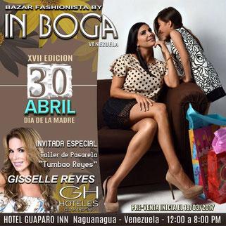 Bazar Fashionista by In Boga Venezuela - Día de la Madre