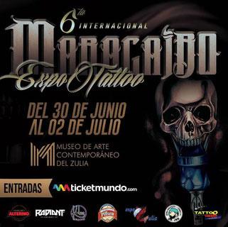 Maracaibo Expo Tattoo - 6ta Edición