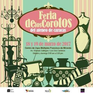 Feria de los Corotos del Ateneo de Caracas
