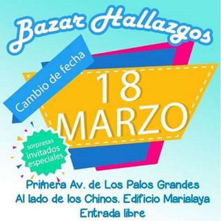 Bazar Hallazgos - 4ta Edición