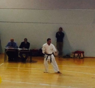 Cintura nera 1° dan Karate Massimiliano Marsala