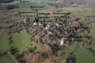 Ladevèze Ville, La Maeleine, castelnau gascon