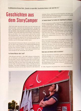 StoryCamper Erzählkunst on Tour