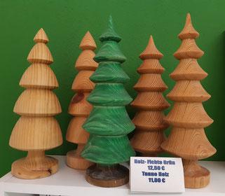Deko-Tannen aus heimischen Holz Grün 12,00 € Holz 11,00 €
