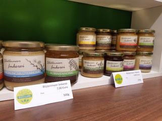 Blütenmeer Imkerei Bioland Honig versch. Sorten 250g 4,50 € und 500g 7,00 €