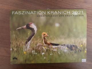 """Kalender """"Faszination Kranich"""" klein 12,00 €"""