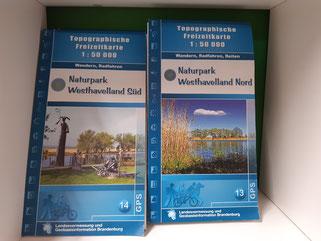 Topograf. Freizeitkarte - Wandern, Radfahren, Reiten je 7,00 €