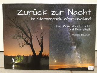 """Bildband """"Zurück zur Nacht im Sternenpark Westhavelland"""" 30,00 €"""