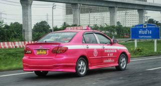 Reise Thailand Taxi Travel