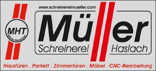 TTF 81 Schomburg e.V. Sponsor Schreinerei Müller, Haslach