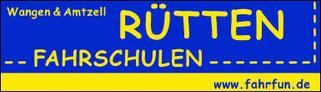 TTF 81 Schomburg e.V. Sponsor Fahrschule Rütten, Wangen und Amtzell