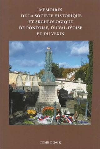 En couverture : Le monument au morts du cimetière de Jouy-le-Moutier. (CI. D.Waro)