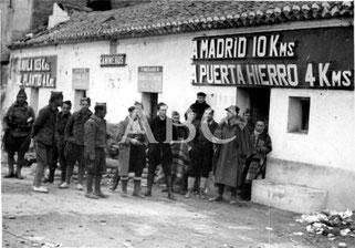 Autor: Serrano en 28/03/1939. Fondo: ABC