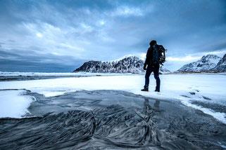 Fotografie Landschaftsfotografie mit Vordergrundmotiv