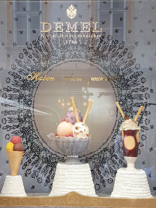 demel hofzuckerbäcker mag lifestyle magazin online reisen urlaub travel österreich wien kärntnerstrasse graben rotenturmstrasse kohlmarkt shopping sommer summer