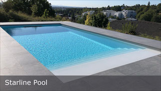 Poolbau mit Starline Pool