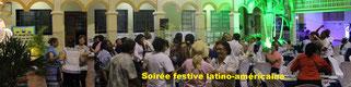 Pour voir les photos de la Soirée Festive Latino-américane, clic sur l'image