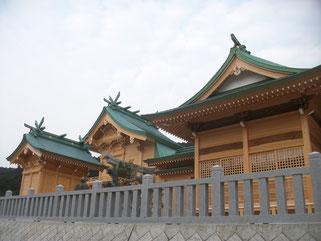 高木神社神殿・幣殿・拝殿新築工事(平成25年竣工)