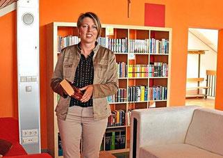 Jana Grzemba, Schulleiterin; PNP 13.09.2020; Foto: Astrid C. Hahne