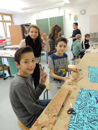 Elternverein Strasshof Bastelprojekt 2015