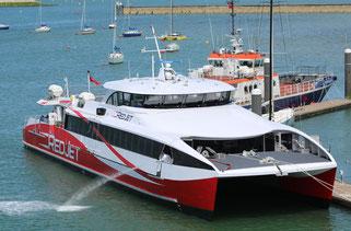 Wight Shipyard: Red-Funnel-Fähre 'Red Jet 6'