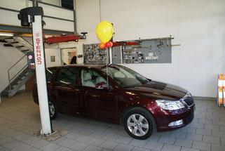 Mr. Balloni.ch, Ballonmann, Heliumballon, Helium, Kundenstopp, Firma, Betrieb ,Autohaus, Ausstellung