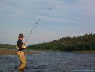Angler - Finnland, das Land der tausend Seen  -  © Jyrki Mäkelä Kuusamo