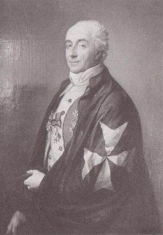 Karl Ludwig von Berg war Herr auf Schönfeld, Kleptow und Klein Spiegelberg.