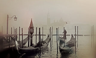 Venedig im Winter November