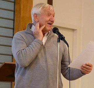 """11-Charles Zimmermann a évoqué l'organisation de la diffusion de l'""""Echos du Viaduc » sur Saint-Martin, occasion pour les diffuseurs de rencontrer la population locale"""