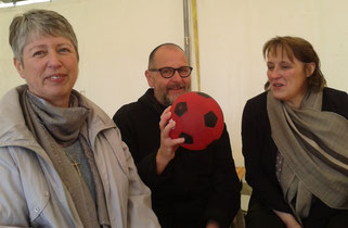 Marie-Annick, Bernard et Christine