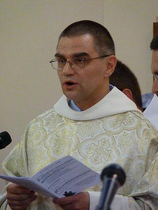 Fr Jean-Joup EFFRAY - Commentant les textes du jour avec beaucoup de finesse spirituelle, son homélie a marqué d'un moment fort la célébration.