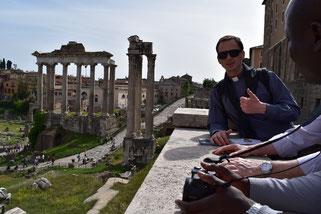 Joseph, en parfait guide pour visiter Rome