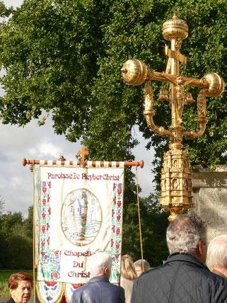 Rassemblement de la procession