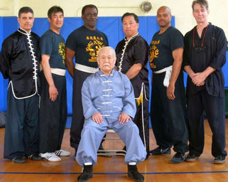 Sifu Shum with the YJP Board of Directors