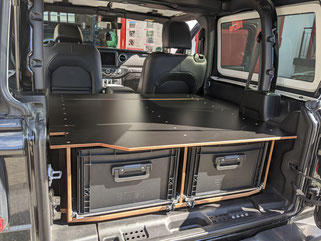 164 Liter Stauraum mit leichtgängigen Schubladen