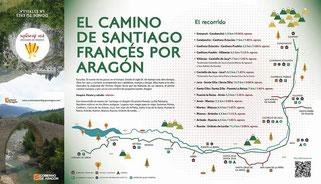 Camino Santiago en Aragón
