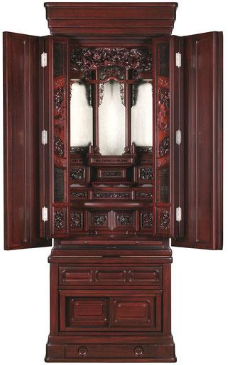 唐木仏壇の修理
